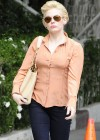 Rose McGowan In Jeans at Office Building -04