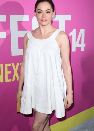 "Rose McGowan - ""Life After Beth"" Screening 2014 Sundance NEXT FEST"