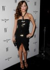 Rose McGowan - leggy in black dress at W Magazines 69th Annual Golden Globe Party-05
