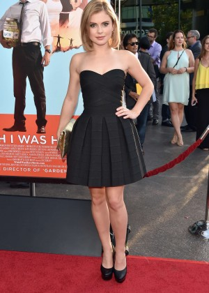Rose McIver: Wish I Was Here LA Premiere -03