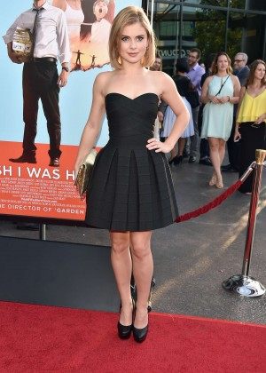 Rose McIver: Wish I Was Here LA Premiere -05