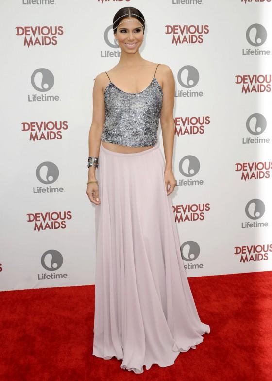 Roselyn Sanchez at the Devious Maids premiere party -01