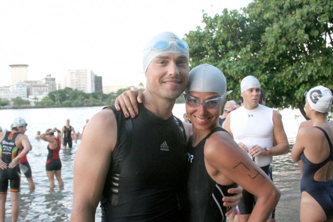 Roselyn Sanchez: Competes in her Roselyn Sanchez Triathlon for a Smile -05
