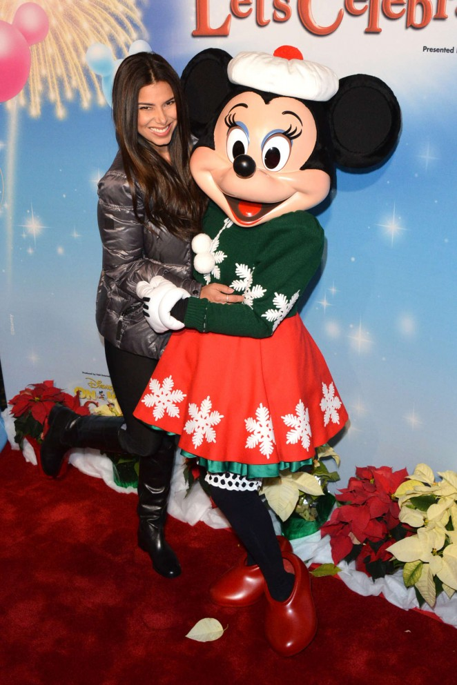 Roselyn Sanchez - Disney On Ice Presents Let's Celebrate! in LA