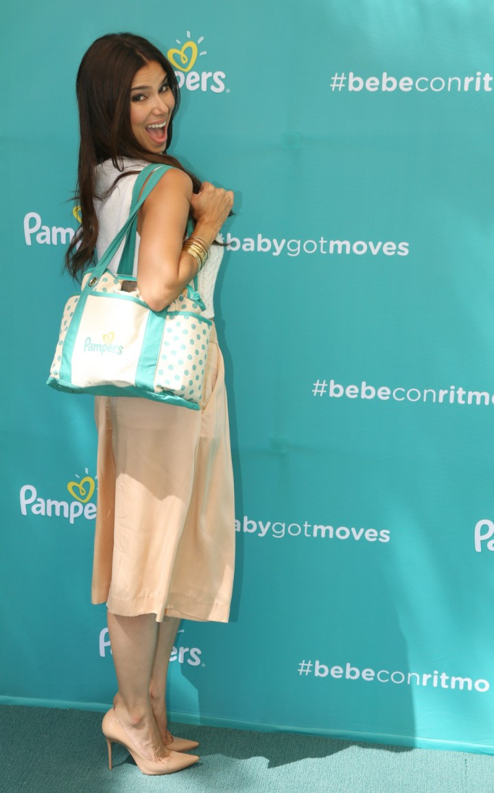 Roselyn Sanchez - Launches Pampers BabyGotMoves Campaign in Los Angeles