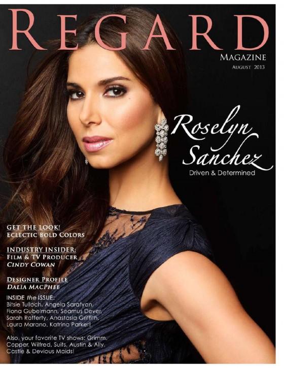 Roselyn Sanchez 2013 : Roselyn Sanchez – Regard magazine August 2013 -25