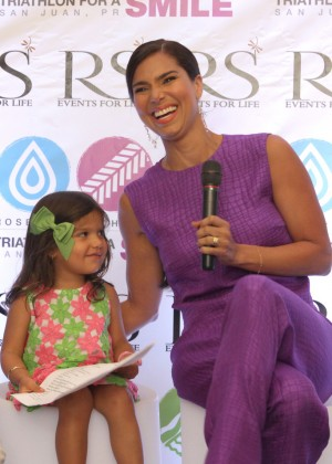 Roselyn Sanchez - 'Roselyn Sanchez Triathlon for a Smile' Press Conference in San Juan