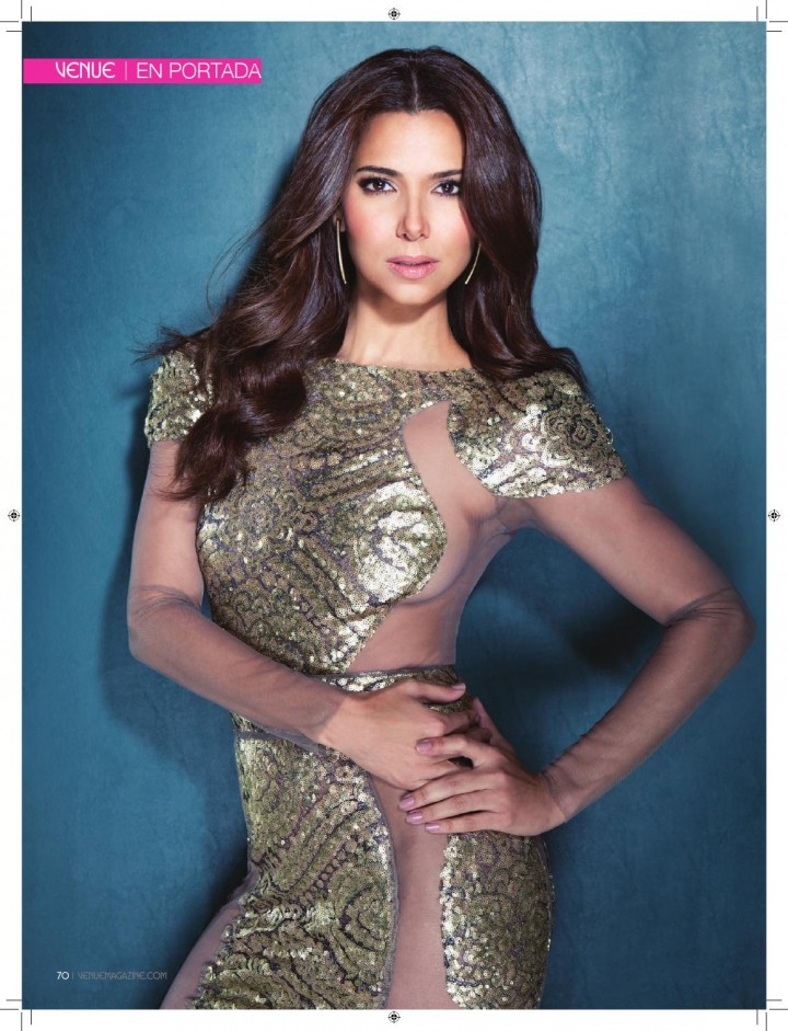 Roselyn Sanchez: Venue Magazine 2014 -05