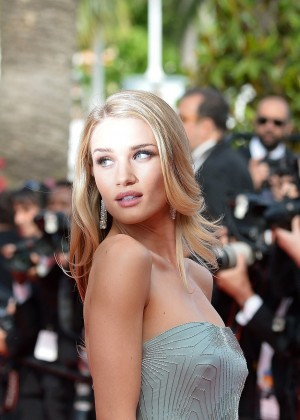 Rosie Huntington-Whiteley at The Search Premiere Cannes Festival -05