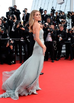 Rosie Huntington-Whiteley at The Search Premiere Cannes Festival -08