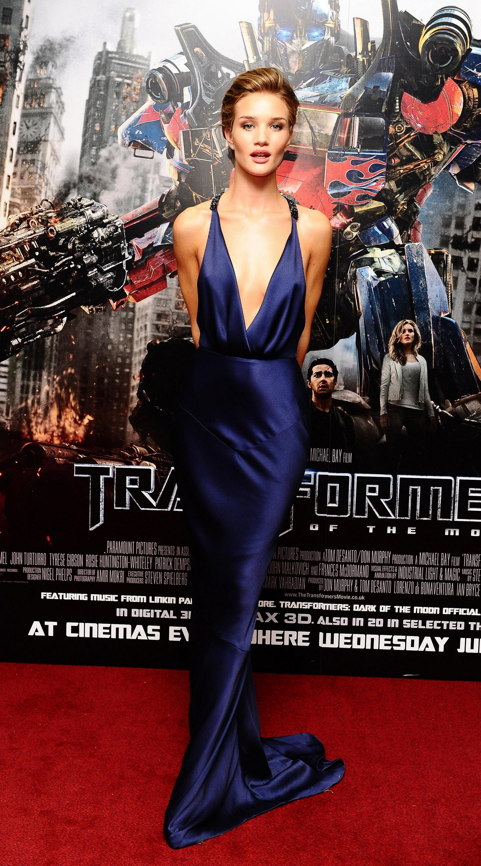 Rosie Huntington-Whiteley at Transformers 3 Premiere in London-02 - GotCeleb Rosie Huntington Whiteley