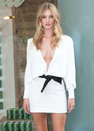 Rosie Huntington Whiteley - Coca-Cola Launch Photocall in London
