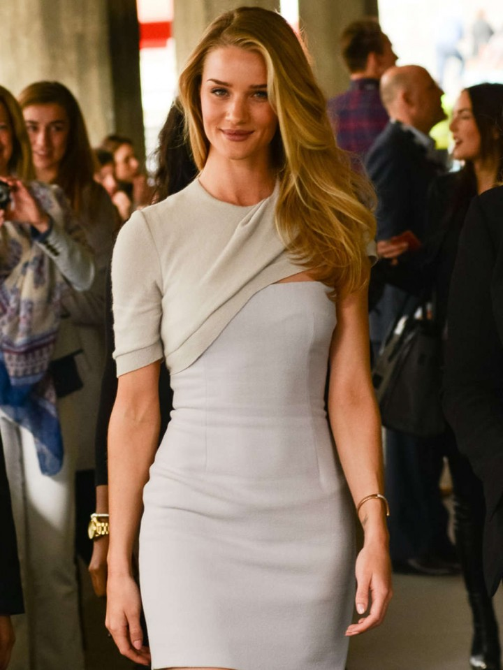 Rosie Huntington-Whiteley – Attends Vogue Festival in London