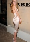 Rosie Huntington Whiteley - Tight Dress Candids at Burberry Body Launch-02