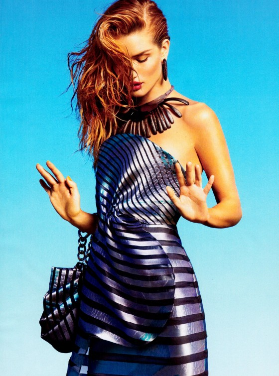 Rosie Huntington-Whiteley – Harper's Bazaar Magazine US (December 2011)