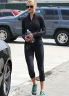 Rosie Huntington-Whiteley - leaves the gym -13