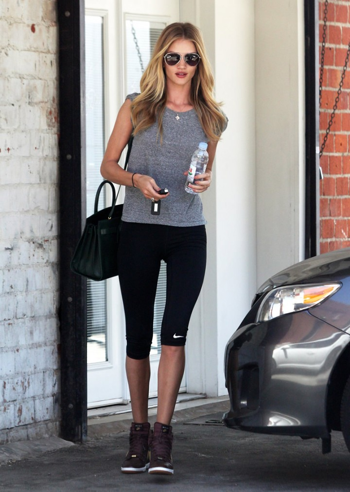Rosie Huntington-Whiteley leaving a gym in West Hollywood-09