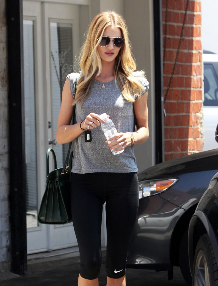 Rosie Huntington-Whiteley leaving a gym in West Hollywood-12