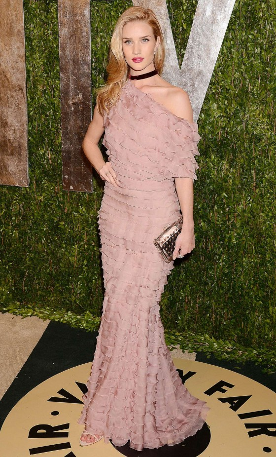 Rosie Huntington Whiteley – Oscar 2013 – Vanity Fair Party -14