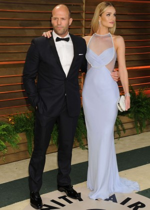 Rosie Huntington Whiteley: Oscar 2014 - Vanity Fair Party -02