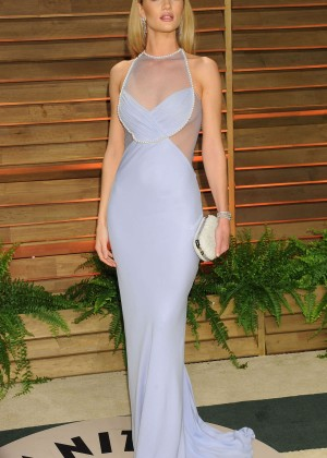 Rosie Huntington Whiteley: Oscar 2014 - Vanity Fair Party -07