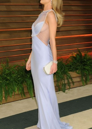 Rosie Huntington Whiteley: Oscar 2014 - Vanity Fair Party -10