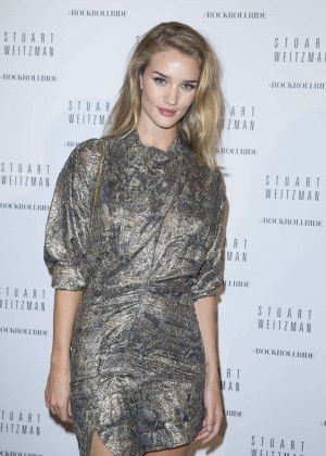 Rosie Huntington Whiteley - Stuart Weitzman Cocktail Party For #Rockrollride Film Premiere in Paris