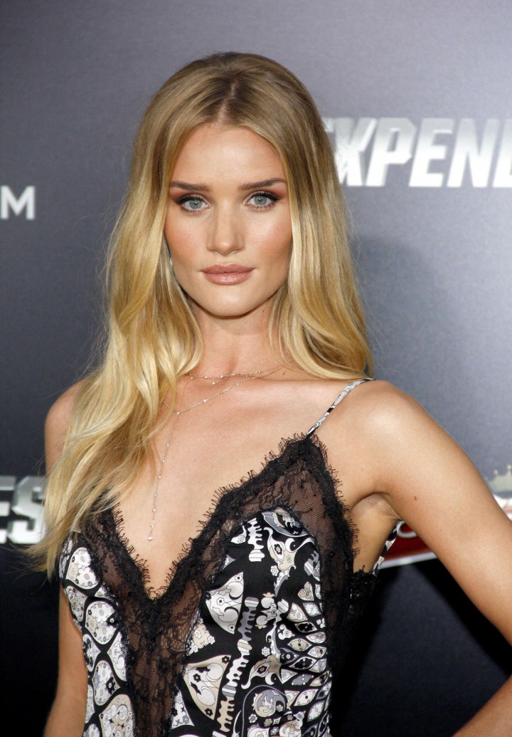 """Rosie Huntington Whiteley – """"The Expendables 3"""" Premiere in Hollywood"""