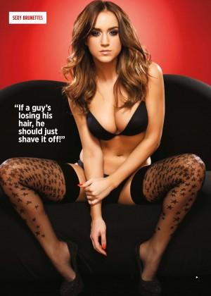 Rosie Jones: Nuts Magazine (March 2014) -04