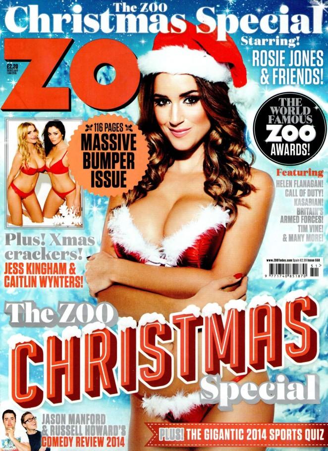 Rosie Jones - ZOO Magazine (December 2014)