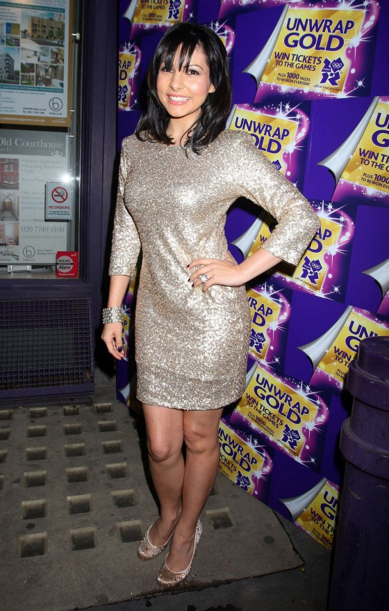 Roxanne Pallett at Cadbury Unwrap Gold Launch Party East London-03