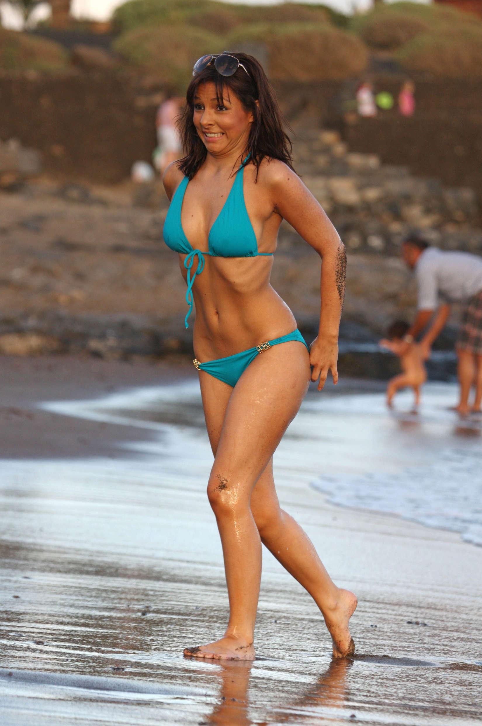 Male female nudity on beach