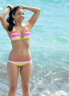 Roxanne Pallett - Hot Bikini candids in Tenerife-02
