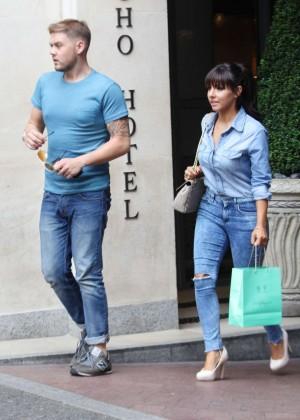 Roxanne Pallett in tight jeans. -05