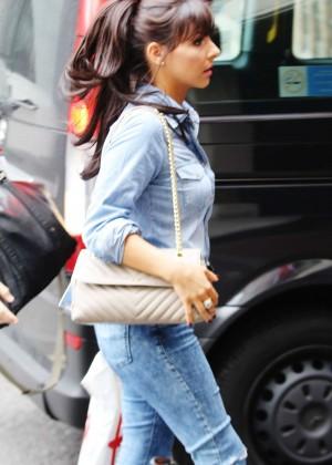 Roxanne Pallett in tight jeans. -13
