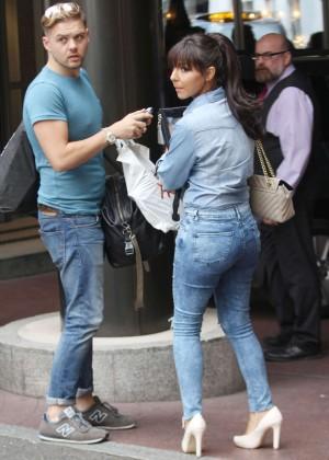 Roxanne Pallett in tight jeans. -17