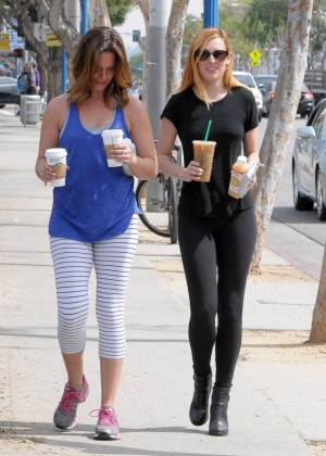 Rumer Willis in Leggings -04