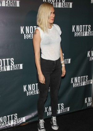 Rumer Willis - Knott's Scary Farm Opening Night in Buena Park