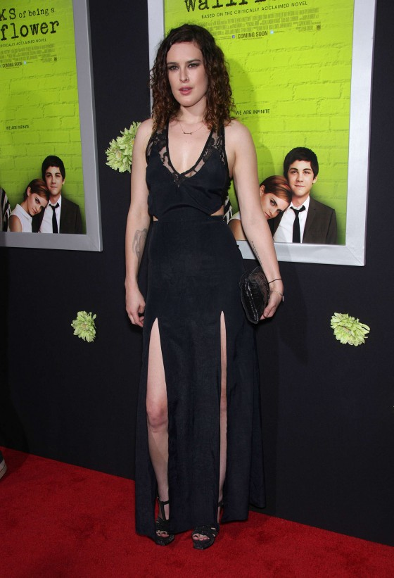 Rumer Willis at Premiere of The Perks Of Being A Wallflower at the Arclight Cinerama Dome in Hollywood