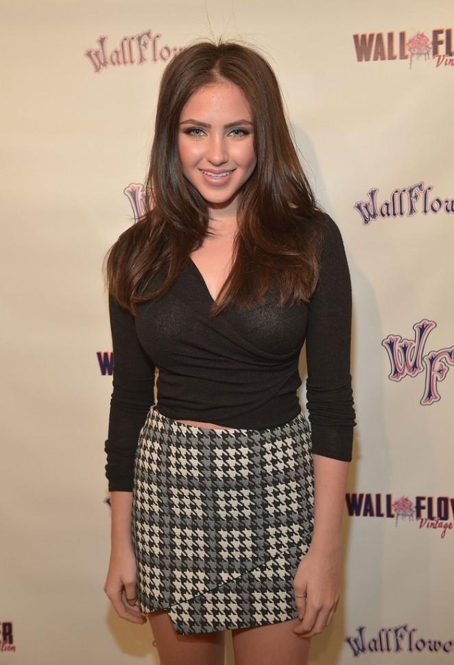 Ryan Newman – Attend Wallflower Jeans Fashion Night Out