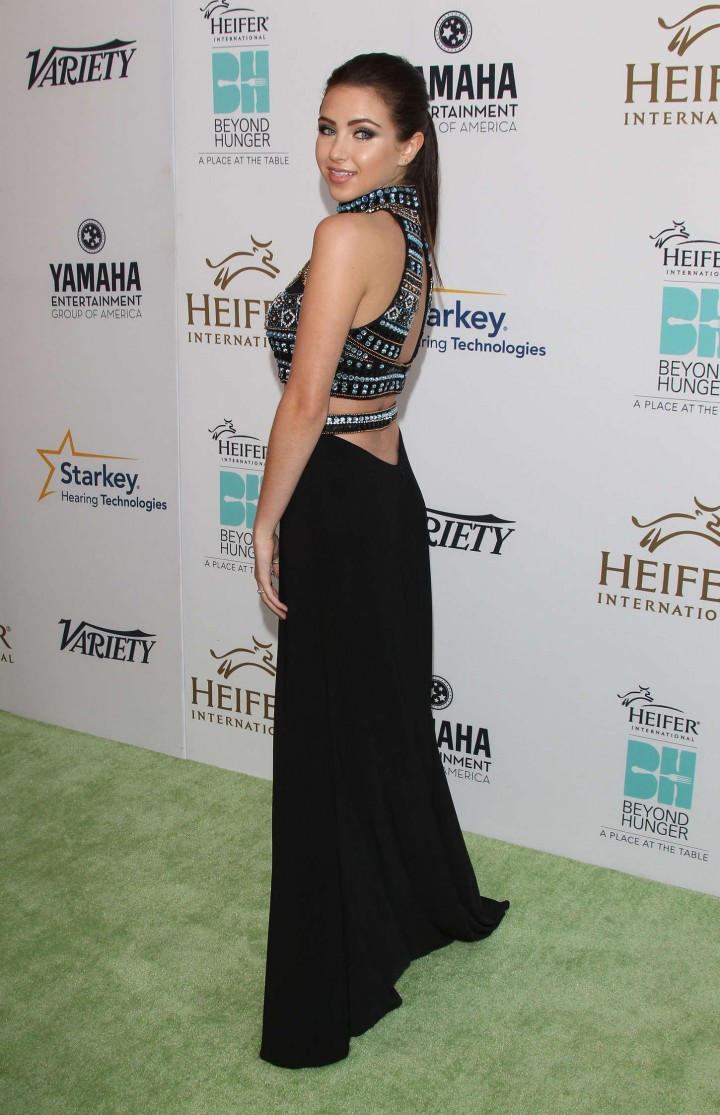 "Ryan Newman - ""Beyond Hunger - A Place At The Table"" Gala in Beverly Hills"