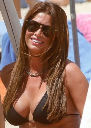 Sabia Bouhlahrouz in a Black Bikini in Saint-Tropez-07