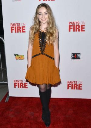 Sabrina Carpenter: Pants on Fire Premiere -03