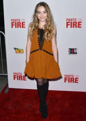 Sabrina Carpenter: Pants on Fire Premiere -04