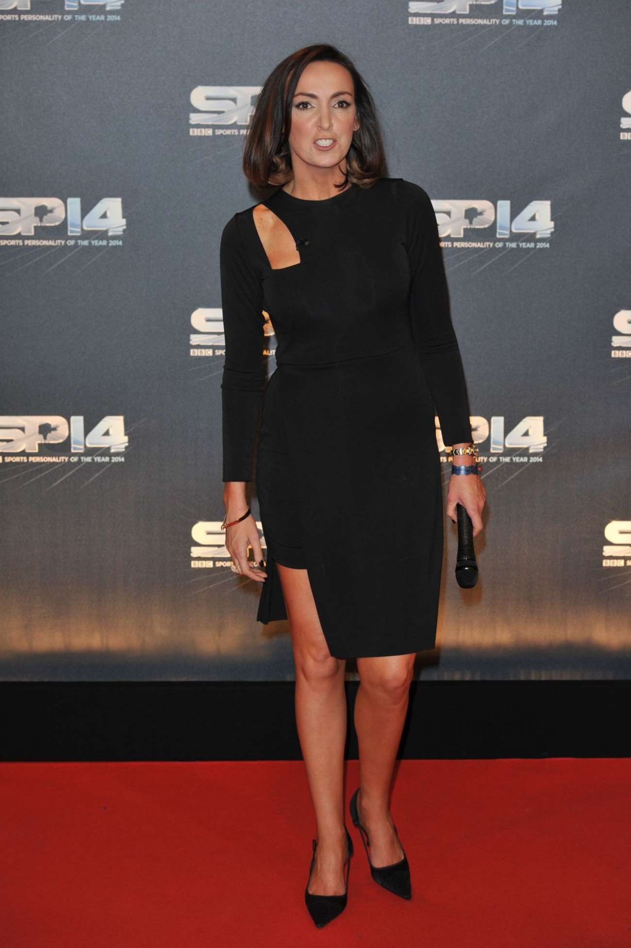 Sally Nugent 2014 Bbc Sports Personality Of The Year