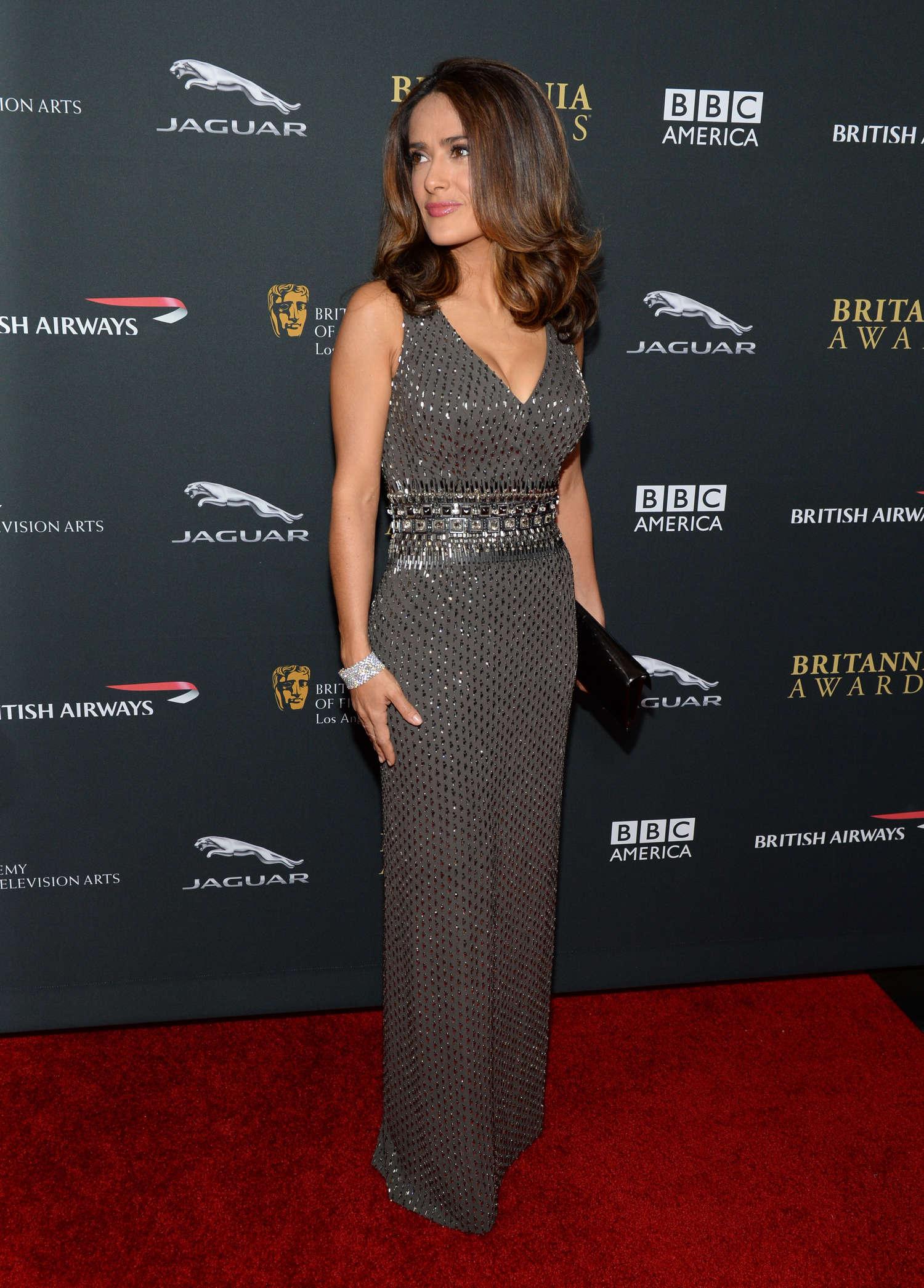 salma hayek 2013 bafta britannia awards 02 � gotceleb