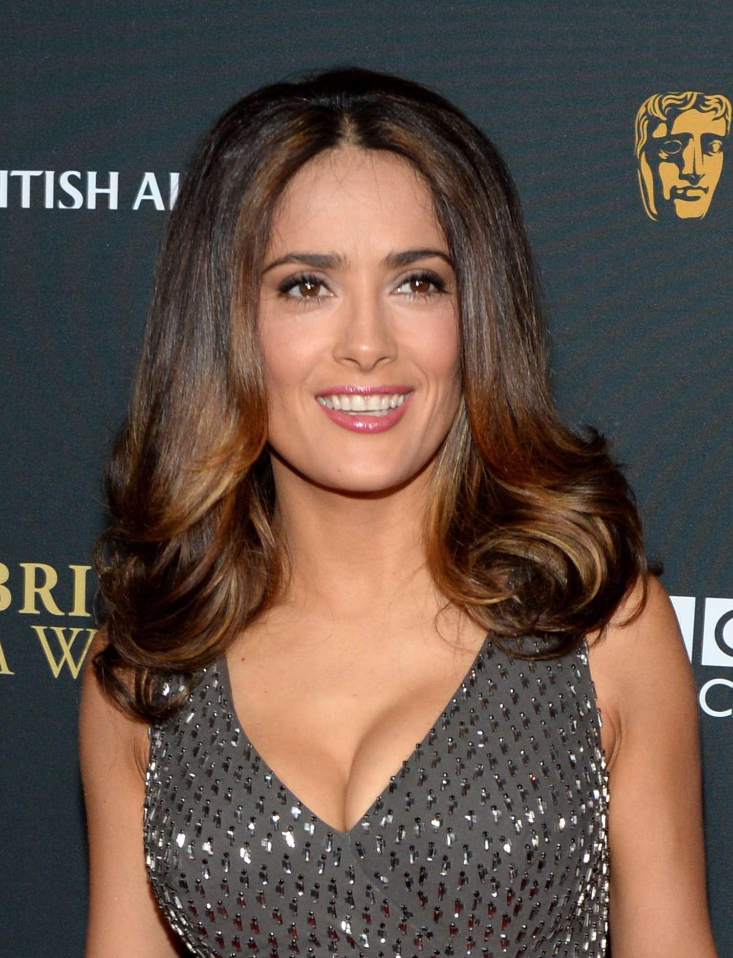 salma hayek 2013 bafta britannia awards 14 � gotceleb