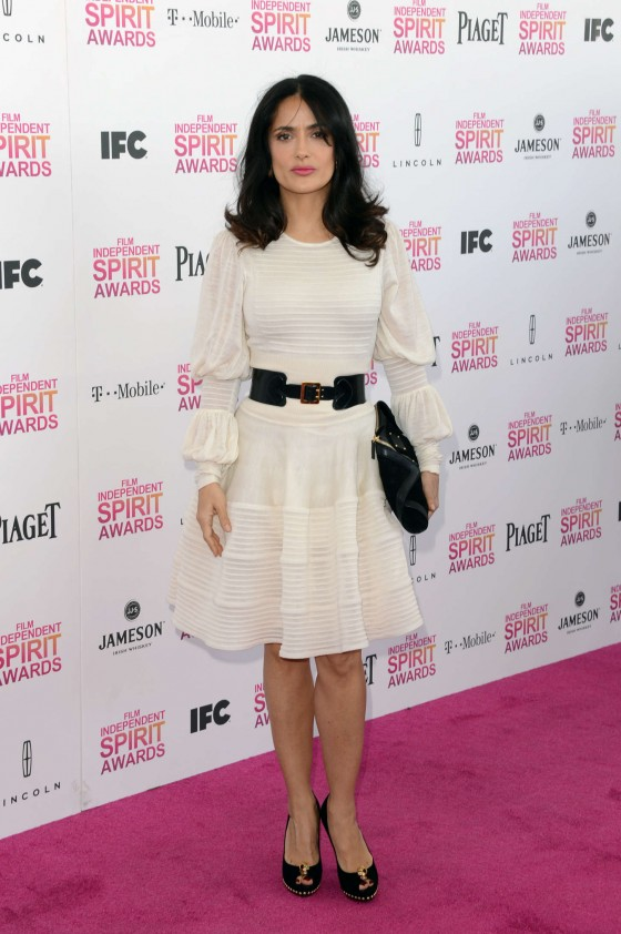 Salma Hayek – 2013 Film Independent Spirit Awards -04