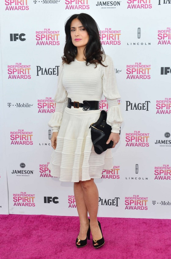 Salma Hayek – 2013 Film Independent Spirit Awards -07