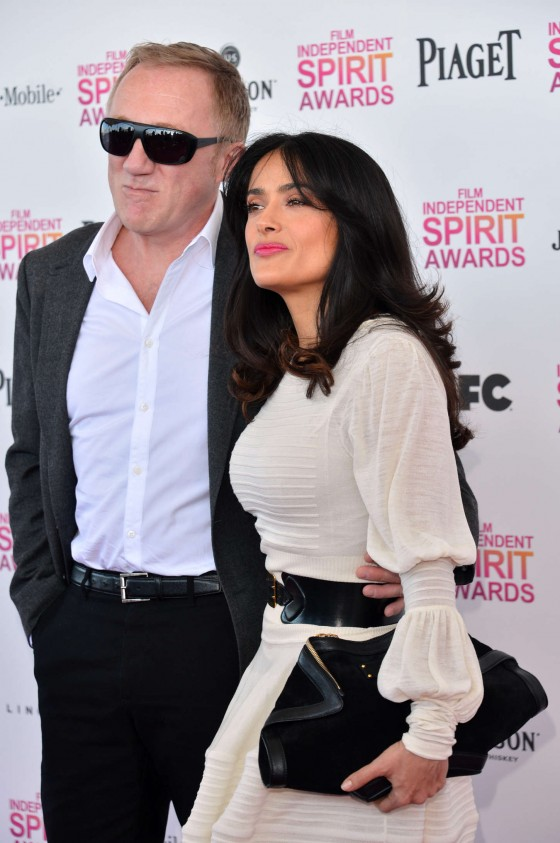 Salma Hayek – 2013 Film Independent Spirit Awards -08